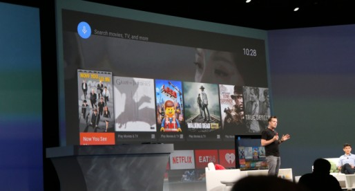 Google Introduces Android TV, Its New Platform For Smart TV Apps And Navigation