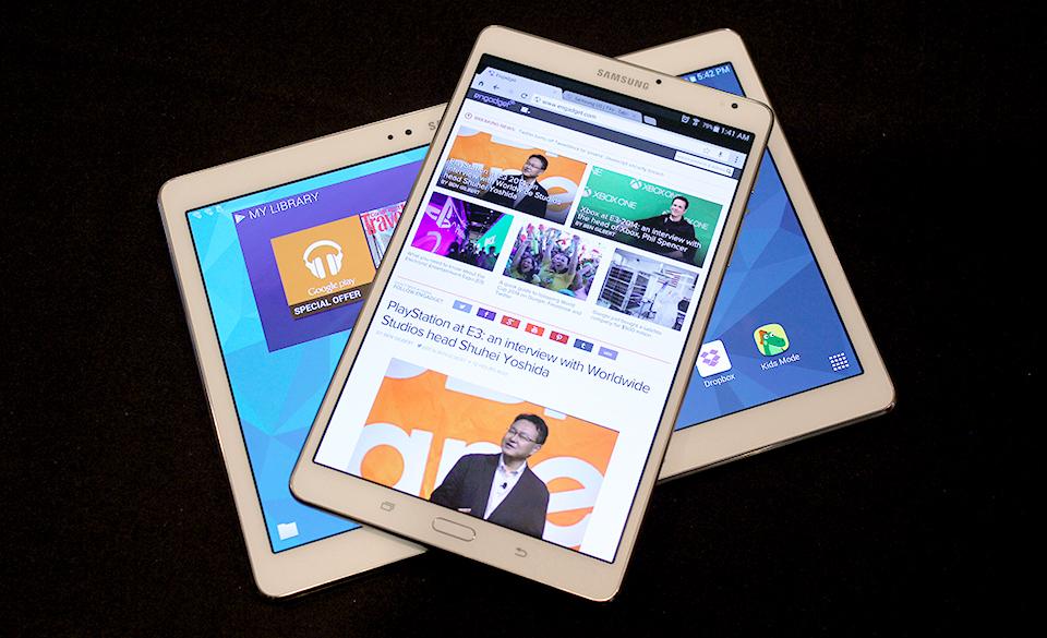 A close look at Samsung's  Galaxy Tab S