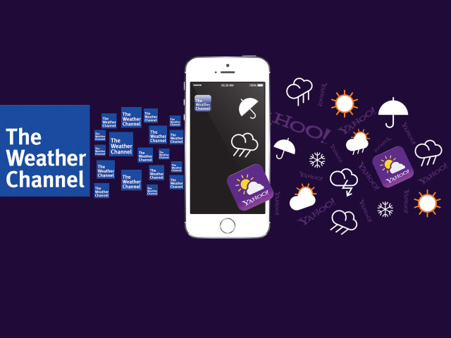 As Weather Channel Blows Yahoo Off Apple's Upcoming iOS 8