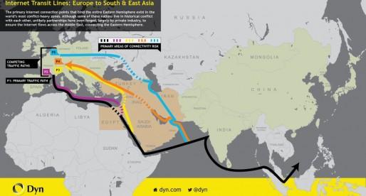 How Internet Providers Get Around War Zones