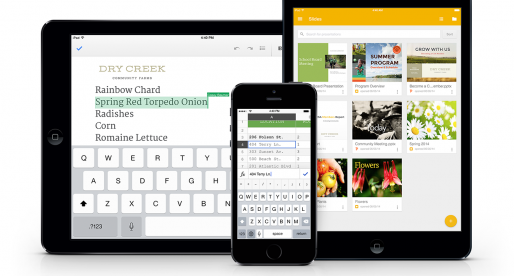 Google releases new Slides app for iOS, updates Sheets and Docs with offline and direct Office file editing