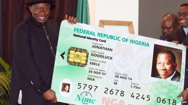 Nigeria launches national electronic ID cards