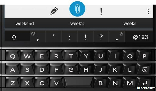 Blackberry Passport introduces dual-control keyboard