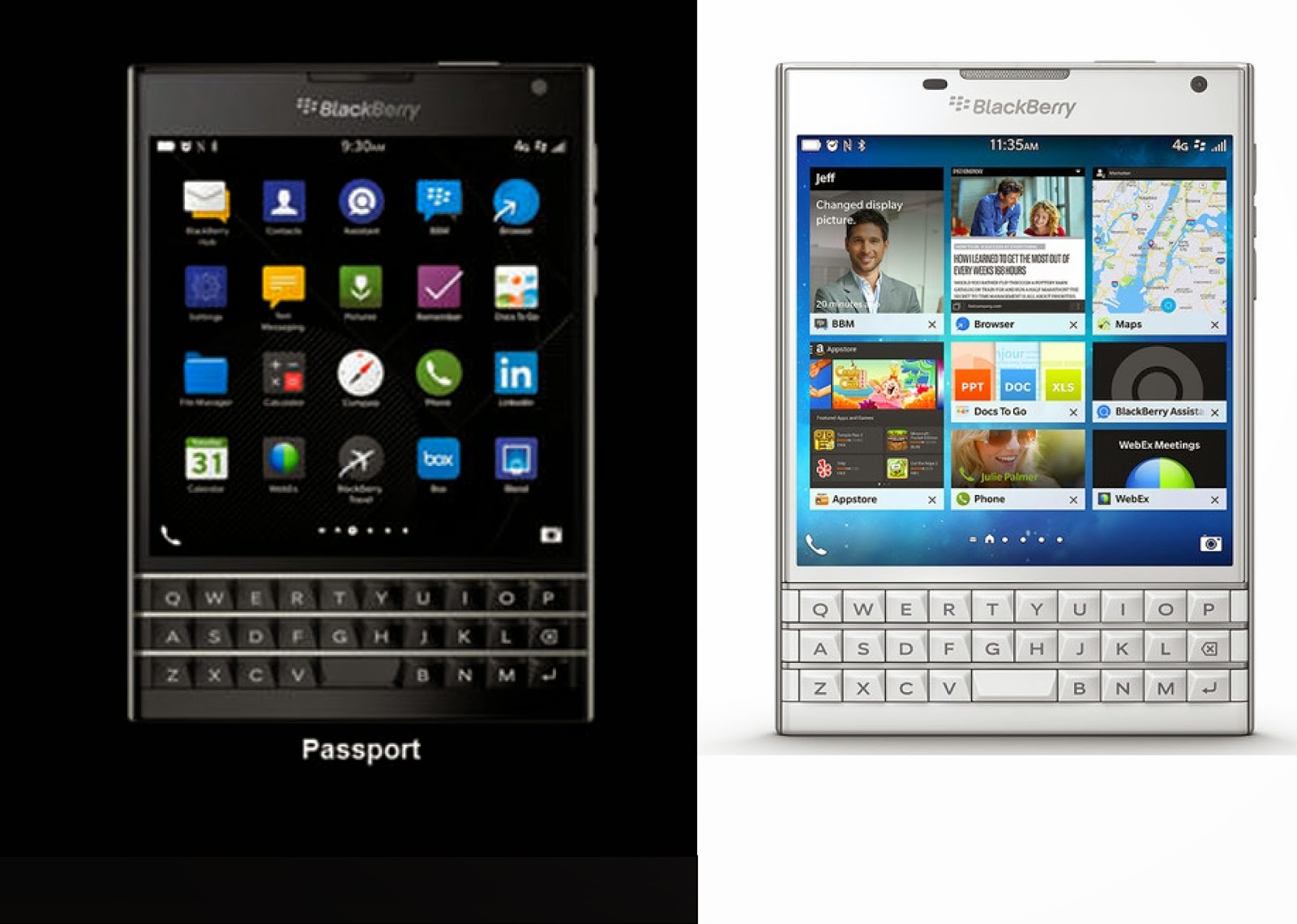 Behold the BlackBerry Passport