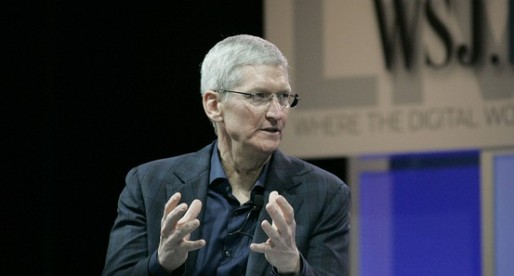 """Apple CEO joins the """"give it all away"""" club"""