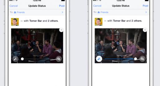 "Facebook starts ""auto-enhance""  for photos uploaded via mobile"