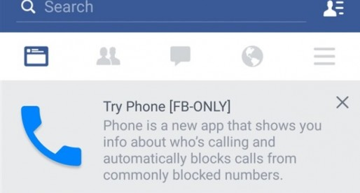 "Facebook is reportedly planning ""Phone"" app; something in the Truecaller category"