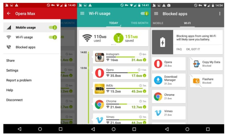 Opera Max For Android Now Lets You Save On Data Over Wi-Fi