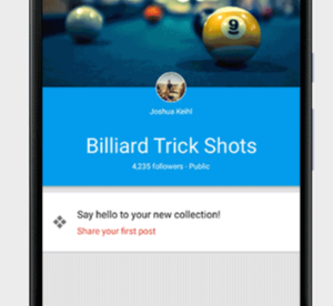 """Google+ """"Collections""""  Now Adds Pinterest-Like Feature To Your Profile"""