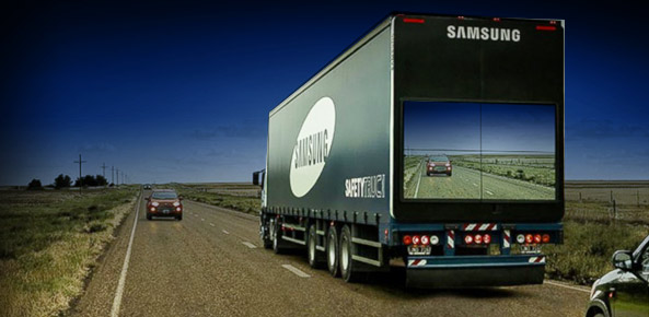 Here's What You Need To Know About Samsung's Transparent Truck
