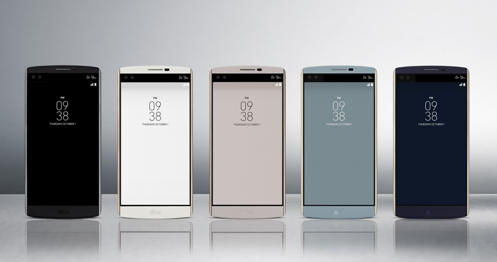LG Unveils Its New V10 Phone With Dual Front Face Camera Along With A new Smartwatch