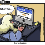 What If GOD Wanted to Have a Facebook Account [Tech'n'Toon]