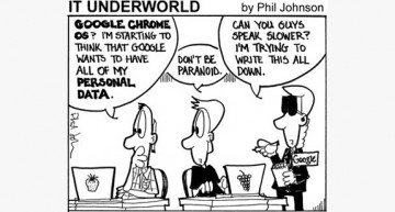 Google's Data Collectors (Tech'n'Toon)