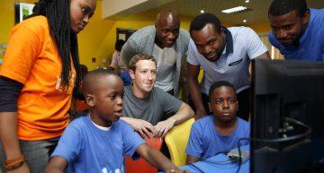 Mark Zuckerberg Is In Lagos Nigeria  Right Now