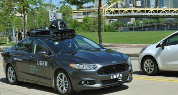 Uber Announces Self Driving Cars In The US City Of Pittsburgh.