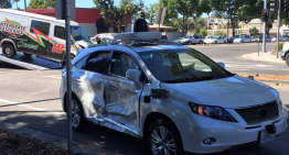 Google's Self-Driving Car Was Involved In A Crash. It Was Caused By A Van Jumping The Red Light