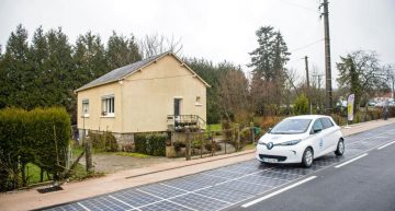 France Unveils World's First Solar Panel Paved Road In A Normandy Village But Critics Are Skeptical. Here's Why