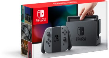 Nintendo's Hybrid Console; Switch Will Be Available Worldwide From 3rd Of March For $299.99