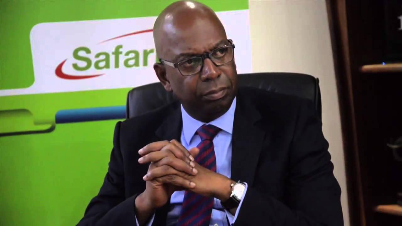 Safaricom Bob Collymore