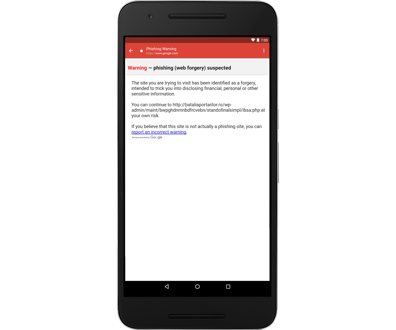 Safer Links in Gmail on Android